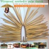 De vuurvaste Synthetische Palm met stro bedekt Viro met stro bedekt om Riet Afrikaan met stro bedekt Hut de Aangepaste Vierkante Afrikaanse Hut Afrika 96 met stro bedekt