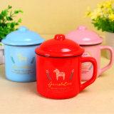 Taza colorida del esmalte de café de la sublimación de la taza de la taza de cerámica de la porcelana