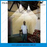 Mini sistema de iluminação Home solar com o carregador do telefone móvel