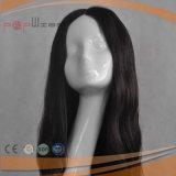 Il nero di modo conta parrucca del merletto dei capelli umani