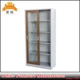 Metal Office Furniture Cupboard Sliding Glass Door Filing Cabinets