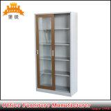 Puerta corredera de cristal Muebles de metal Armario archivador de oficina
