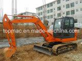 Excavatrice bon marché de chenille des prix et de qualité de marque de Topmac