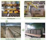 Système d'empilage automatique pour la ligne de production de briquetage (MP)