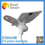 15W 210lm/W 지적인 통합 옥외 LED 태양 빛