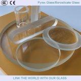 Blanc en verre en verre de Borosilicate/Pyrex/glace