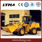 Machines de construction chargeur de roue de 3 tonnes avec la hauteur de dumping de 3400mm