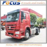 Roues 371HP du moteur 10 de tête de camion d'entraîneur de Sinotruck de vente de prix bas