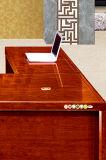 사무실 테이블 모형 Office Table Design 호화스러운 목제 프레임 두목 현대 디렉터