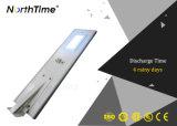 Einteiliges Solar-LED Straßenlaternedes intelligentes Steuermit CCTV-Kamera