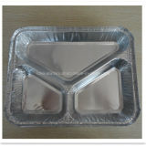 Contenitore a gettare del di alluminio dei tre scompartimenti