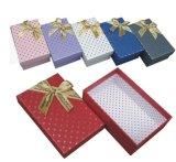 Rectángulos de papel impresos diverso color del regalo para promocional (FLB-9386)