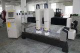 Schnitzen Granit-Marmor-Stein-Ausschnitt-der Maschine der Denkmal-3D