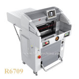 machine de découpage automatique de papier de livre de taille de programme de 520mm 560mm du massicot 670mm hydraulique A3 A4 de contrôle