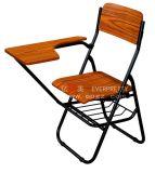 メモ帳(EY-208)が付いている木製の学校の教室研修の椅子