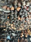 Grosse Größe der Masse verwendeten Schuhe, Form bereift en gros verwendet für Damen