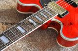 Es335 гитара пустотелых джазовый гитарист красного цвета с золотым Hardwares (TJ-280)