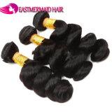 Pacotes frouxos por atacado malaios do cabelo humano do cabelo 10A da onda