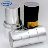 溶媒基づかせていたアクリルの付着力のガラス繊維によって補強されるアルミホイルテープ