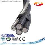 Kabels Abc van de Leider van het aluminium de Geïsoleerdez Elektrische XLPE (JKLYJ)