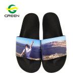 Faites glisser les chaussures Greenshoe Fashion model Logo personnalisé hommes sandales de diapositive