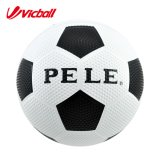 サイズ5#の穀物の表面のゴム製フットボールの球