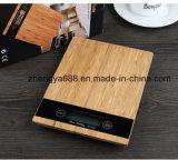 Affichage LCD et balance de cuisine en bois de Bambou Échelle des ménages d'utilisation