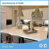 Quartzo bege pedra artificial bancadas de cozinha