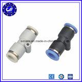 Connettore adatto pneumatico diritto del tubo del metallo