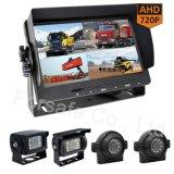 """Monitor Quad de 7"""" del sistema de cámara de visión trasera para camiones, remolques"""