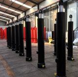 Le cylindre hydraulique a utilisé le camion à benne basculante utilisé par cylindre de chargeurs d'entraîneur de camions d'ordures
