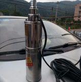 De Pomp van de Schroef van gelijkstroom, Zonne50meter Maximum Hoofd250watt van de Pomp van het Water 24V