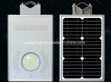Ecológico de la Energía Solar luminaria vial LED 12W en una sola calle luz LED