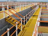 Het Systeem van de Leuning van de Weerstand FRP van de corrosie & van het Effect met Ronde Buis