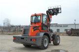 China 1.5ton 2ton 2.5ton rueda Telehandler de 3 toneladas
