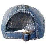 Chapéu lavado do paizinho da sarja de Nimes com logotipo Gjjs11