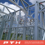 Projeto de edifício pré-fabricado econômico da construção de aço