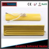 Lampada di ceramica infrarossa dei riscaldatori elettrici
