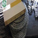 La serie B de conducción de acero inoxidable de precisión de las cadenas de paso corto de la cadena de rodillo único ss04b1 05b1 06b1 08b1 10b1 12b1 16b1 20b1