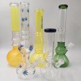 El hábito de fumar los tubos de agua del tubo de vidrio Handblown & Bowls