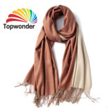 Lenços de pescoço, feitas de acrílico, poliéster, algodão, Royan, lã, Pashmina, baixa quantidade mínima, muitas cores