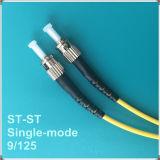 Cordon de connexion uni-mode de fibre optique du PC Rue-Rue