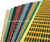 FRP/GRPによって形成される耳障りなガラス繊維の格子か産業GRPの格子、