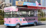 Carro móvil del alimento del carro del alimento de la calle para la venta