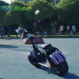 "velocidade rápida elétrica Citycoco do ""trotinette"" 40km/H da motocicleta do pneumático 1000W gordo"
