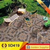 Mattonelle di pavimento di pietra esterne di disegno delle mattonelle 5D (5D414)