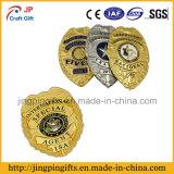 2017 polices faites sur commande promotionnelles en métal Badge