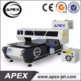 Stampante a base piatta UV da tavolino per plastica/legno/vetro/acrilico/metallo/di ceramica/cuoio