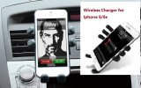 Support de chargeur sans fil Qi Car Mount pour iPhone 6 / 6s Plus