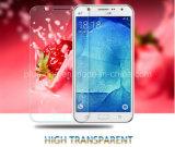 Samsung J5를 위한 2.5D에 의하여 치료되는 이동 전화 부속품 강화 유리 스크린 프로텍터 HD 분명히 반대로 지문